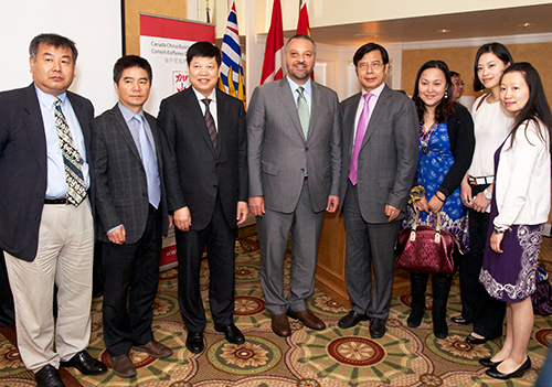 """CCBC Mr. Rick Savone """"How Canada is Growing Business in Shanghai"""