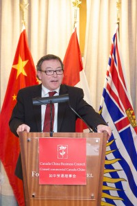 "CCBC Luncheon: ""Advancing B.C.'s Economic and Business Ties with Asia"" by Mr. Ben Stewart - Feb 12 2014"